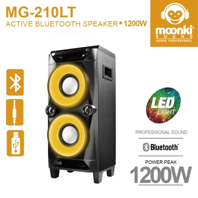 ACTIVE BLUETOOTH SPEAKER MOONKI SOUND MG-210LT
