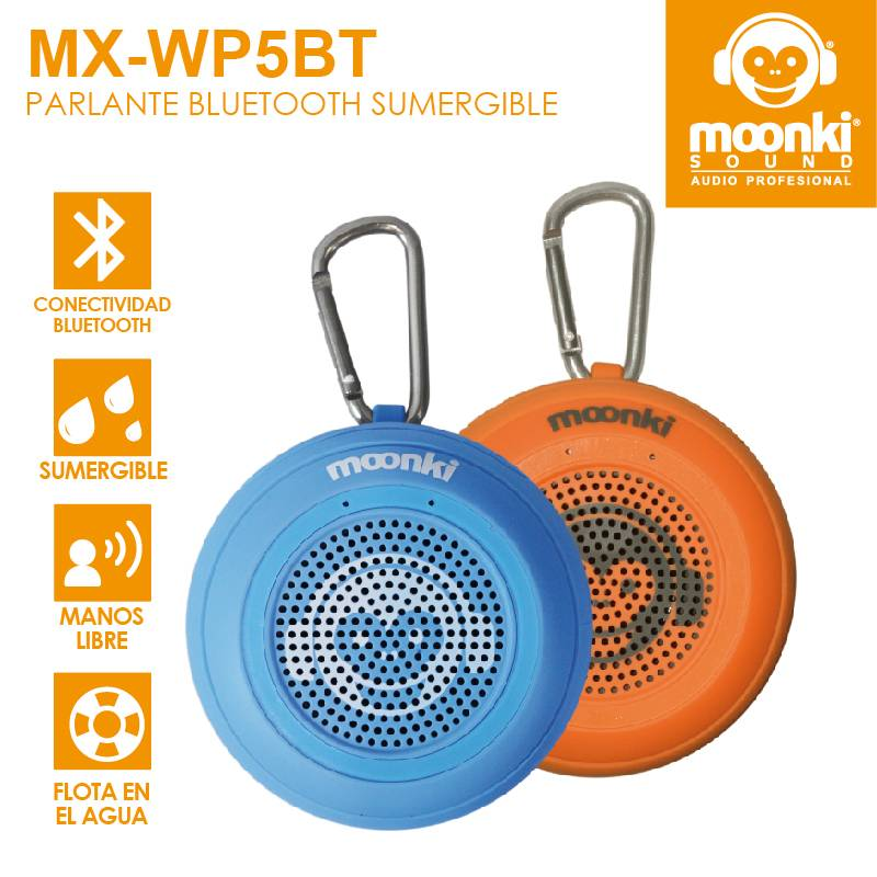 Parlante Portátil Moonki Sound MX-WP5BT IPX7